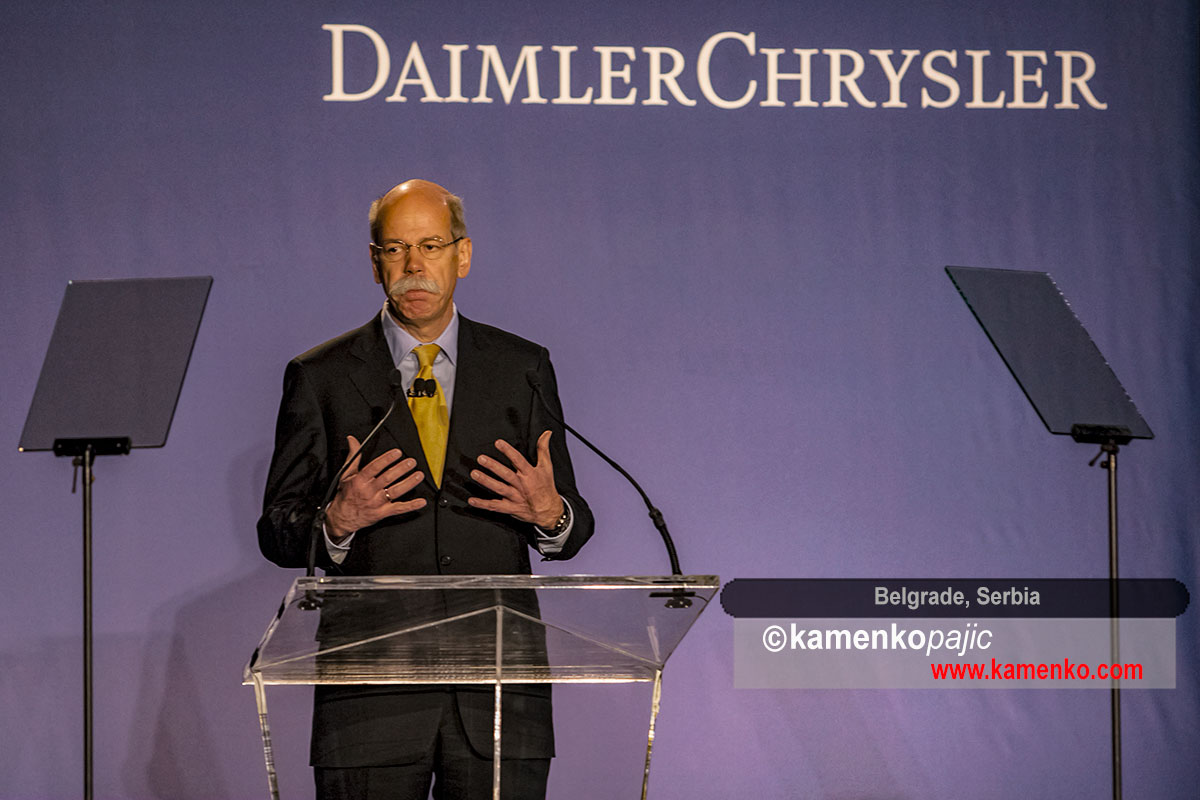 Dieter Zetsche, chairman of the Board of Management of DaimlerChrysler AG and the head of Mercedes Car Group