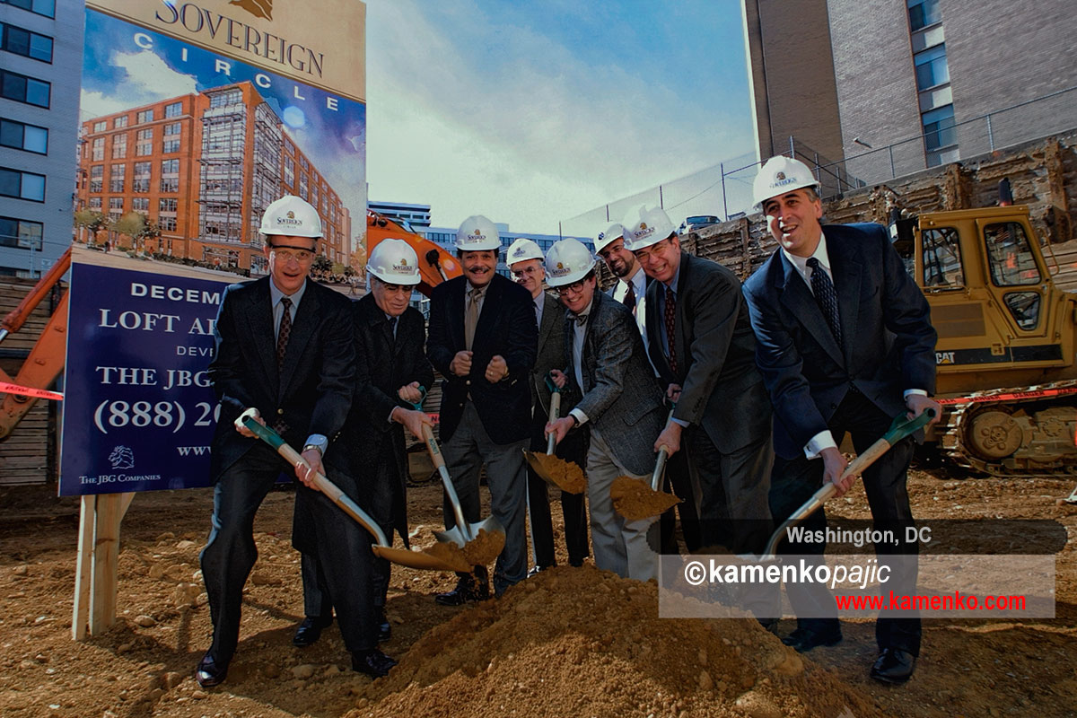 JBG Cpmpanies - Ground breaking ceremony