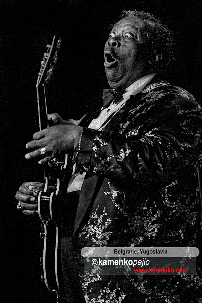 B.B. King in concert
