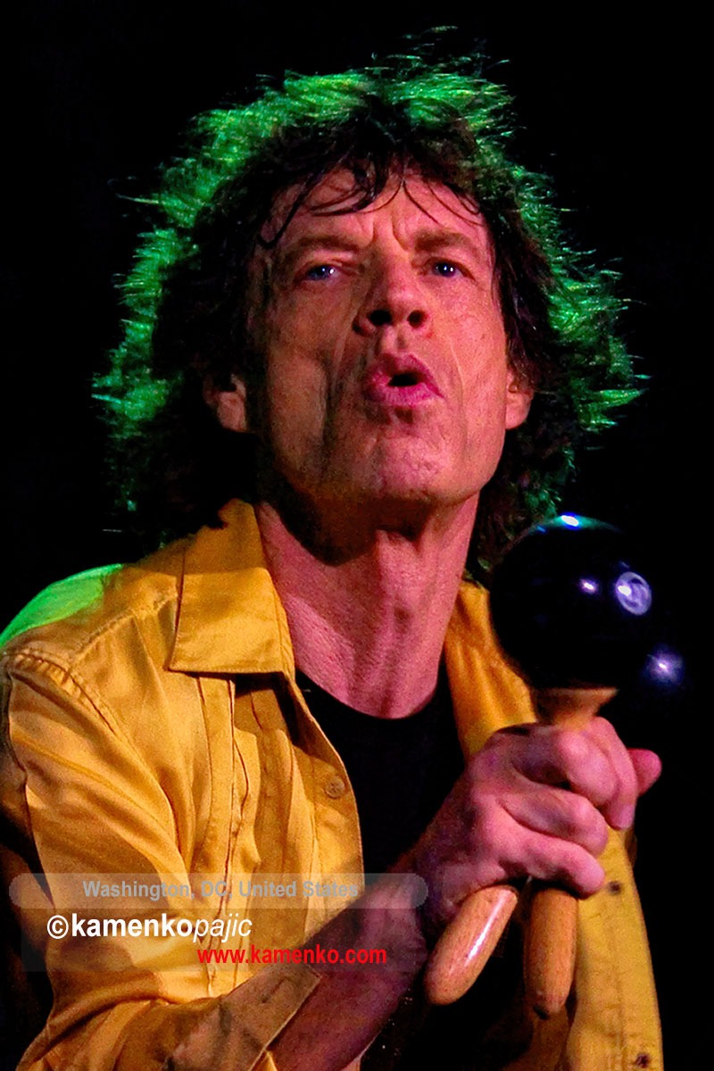 Mick Jagger at conert